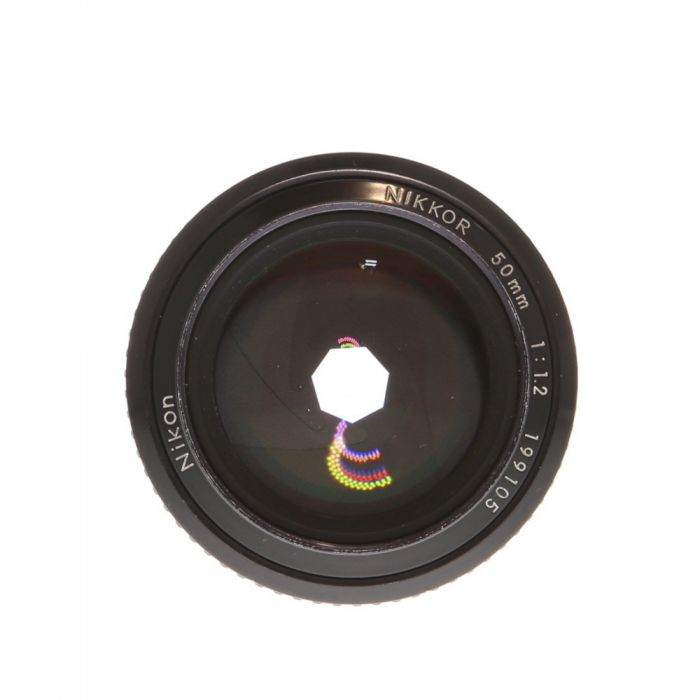 Nikon Nikkor 50mm F/1.2 AI Manual Focus Lens {52}