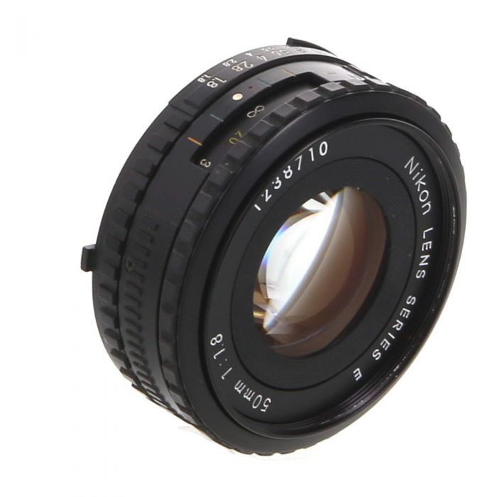 Nikon Nikkor 50mm F/1.8 Series E AIS Manual Focus Lens {52}