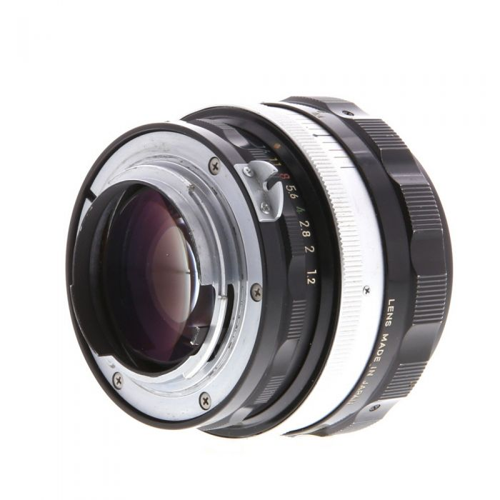 Nikon Nikkor 55mm f/1.2 SC Non AI Manual Focus Lens {52}
