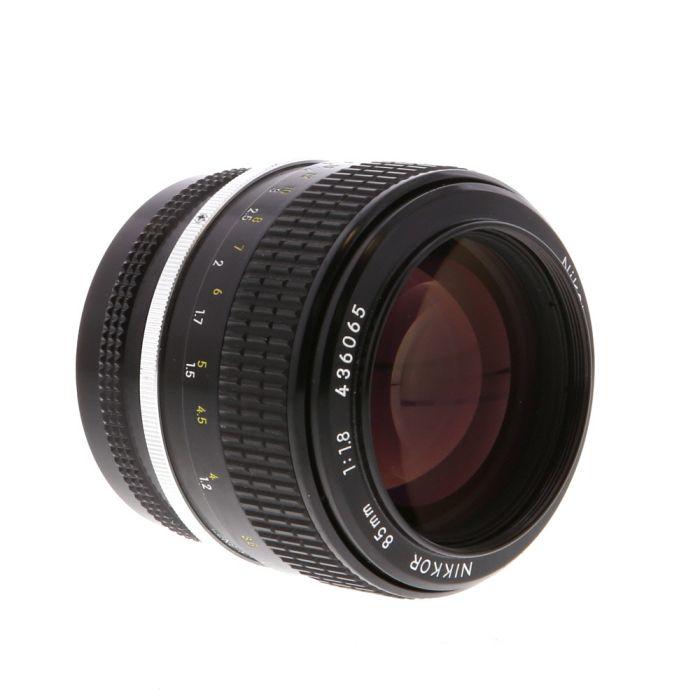 Nikon Nikkor 85mm F/1.8 Non AI Manual Focus Lens {52}