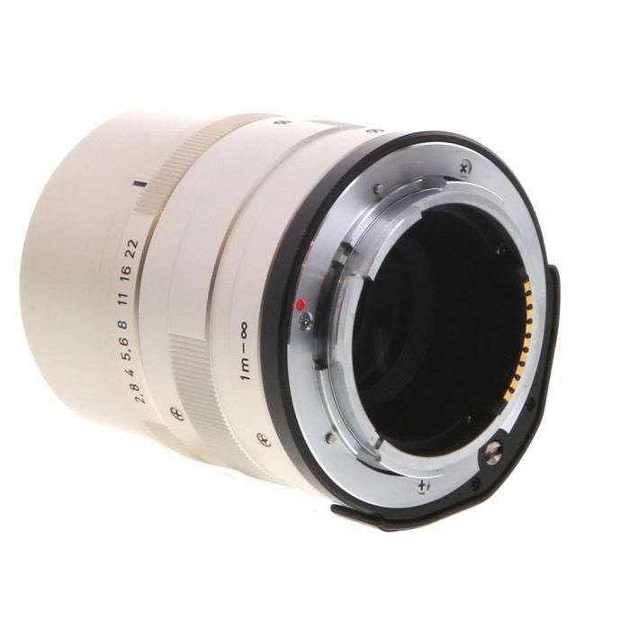 Contax 90mm f/2.8 Carl Zeiss Sonnar T* Lens for Contax G System, Titanium {46}