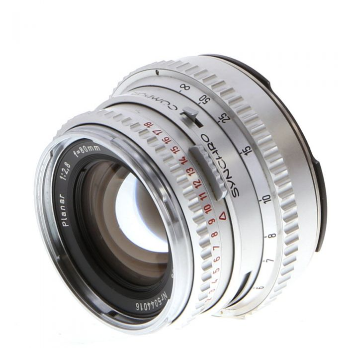 Hasselblad 80mm F/2.8 C Chrome Lens For Hasselblad 500 Series (V System) {Bayonet 50}