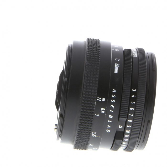 Hasselblad 80mm F/2.8 C T* Black Late Lens For Hasselblad 500 Series (V System) {Bayonet 60}