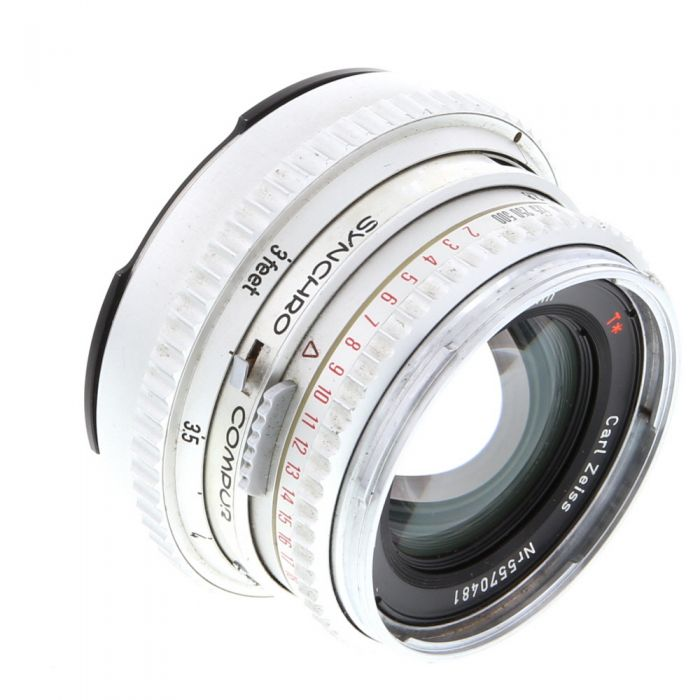 Hasselblad 80mm F/2.8 C T* Chrome Lens For Hasselblad 500 Series (V System) {Bayonet 50}