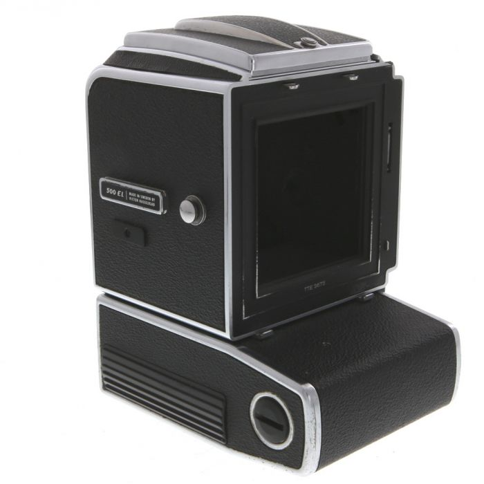 Hasselblad 500EL Medium Format Camera Body, Chrome