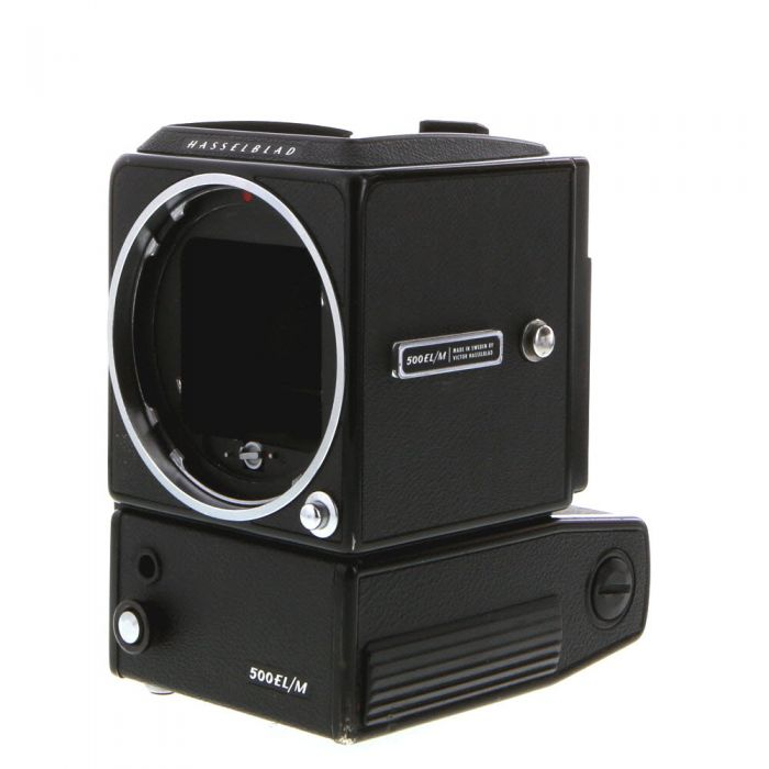 Hasselblad 500ELM Medium Format Camera Body, Black