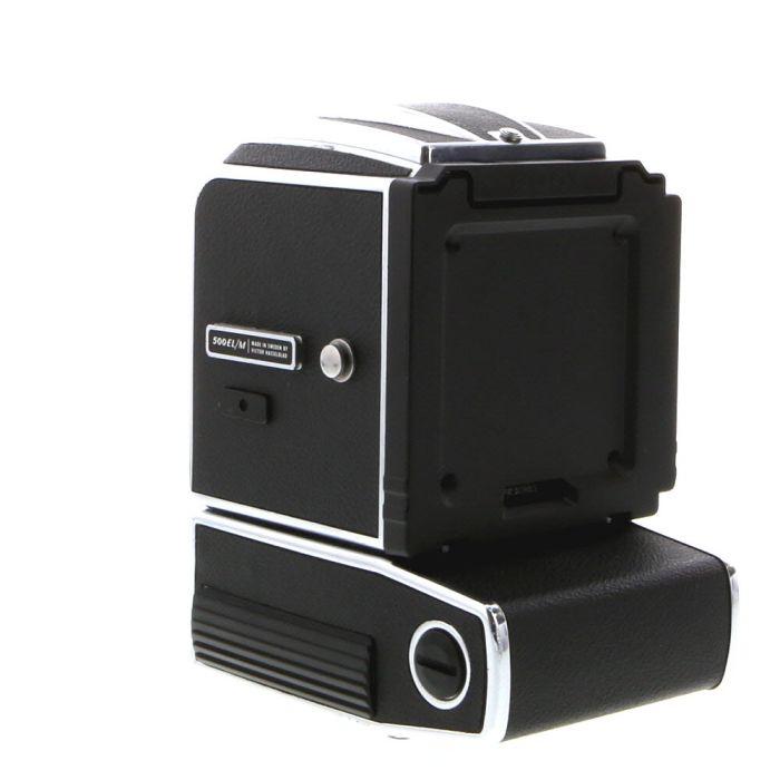 Hasselblad 500ELM Medium Format Camera Body, Chrome