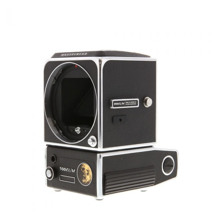 Hasselblad 500ELM Lunar Commemorative, 10 Year On Moon, Medium Format Camera Body, Chrome without Waistlevel Finder