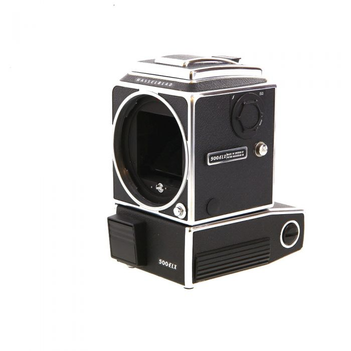 Hasselblad 500ELX Medium Format Camera Body, Chrome