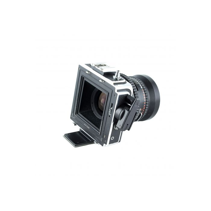 Hasselblad Super Wide C Medium Format Camera with 38mm f/4.5 Biogon Lens Converted To SWC/M, Black