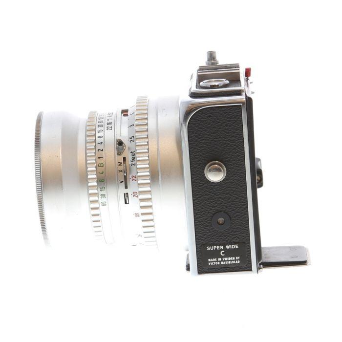 Hasselblad Super Wide C Medium Format Camera with 38mm f/4.5 Biogon, Chrome
