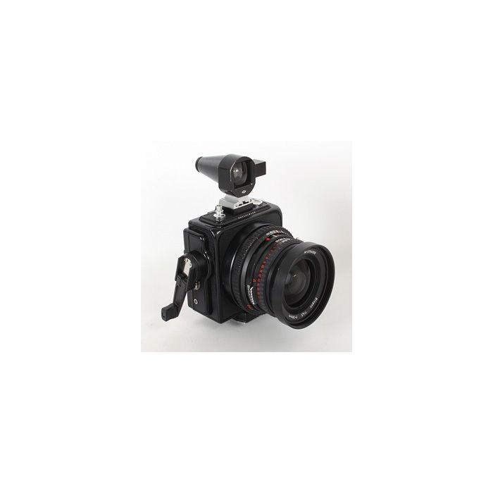 Hasselblad SWC/M Black T* Medium Format Camera with 38mm f/4.5 Biogon