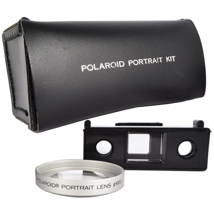 Polaroid Portrait Kit #1952 with Portrait Lens and Viewfinder Attachment (for 195)