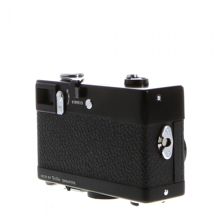 Rollei 35 40mm f/3.5 Tessar Camera, Black  (24)