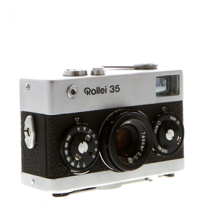 Rollei 35 40mm f/3.5 Tessar Camera, Chrome {24}