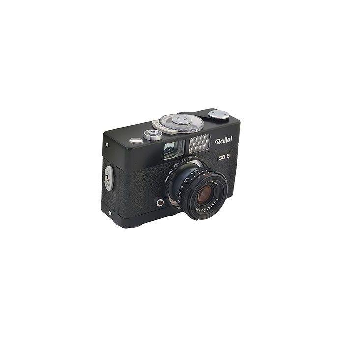 Rollei 35B 40mm f/3.5 Triotar Camera, Singapore, Black {24}