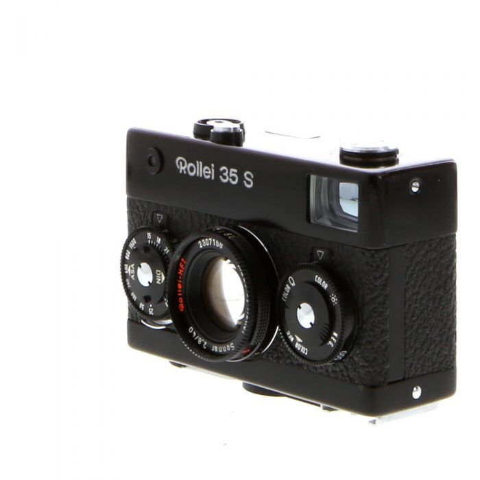 Rollei 35S 40mm f/2.8 Sonnar HFT Camera, Black (Singapore) (30.5)