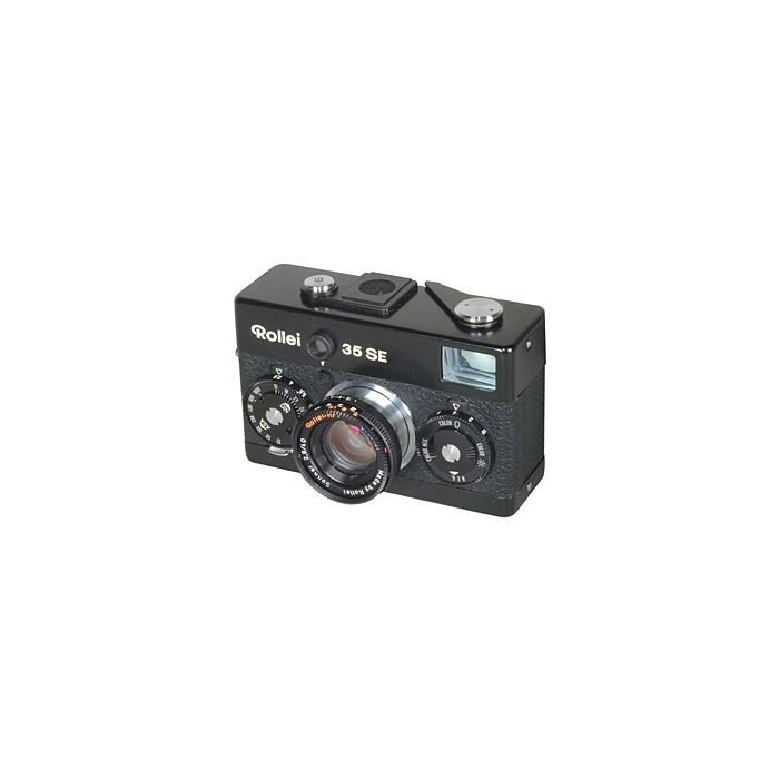 Rollei 35SE 40mm f/2.8 Sonnar HFT Camera, Singapore, Black {30.5}