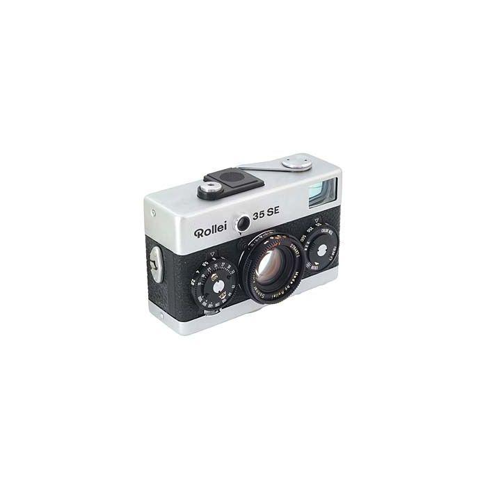 Rollei 35SE 40mm f/2.8 Sonnar HFT Camera, Singapore, Chrome {30.5}