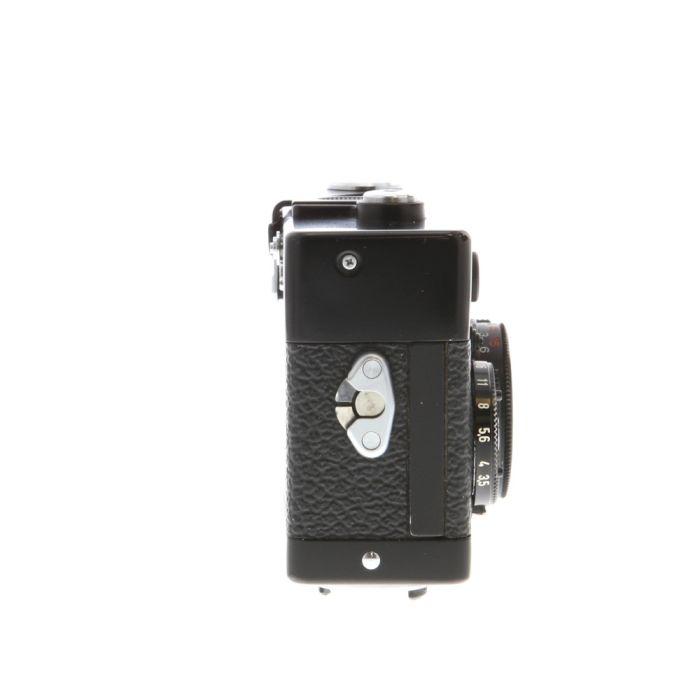 Rollei 35TE 40mm f/3.5 Tessar Camera, Black (Singapore) (24) (PX27)