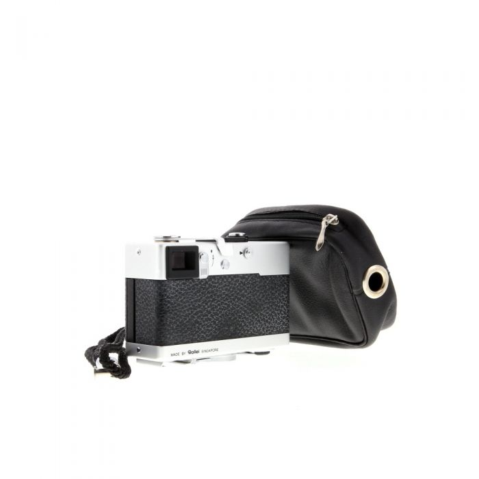 Rollei 35TE 40mm f/3.5 Tessar Camera, Singapore, Chrome {24} (PX27)