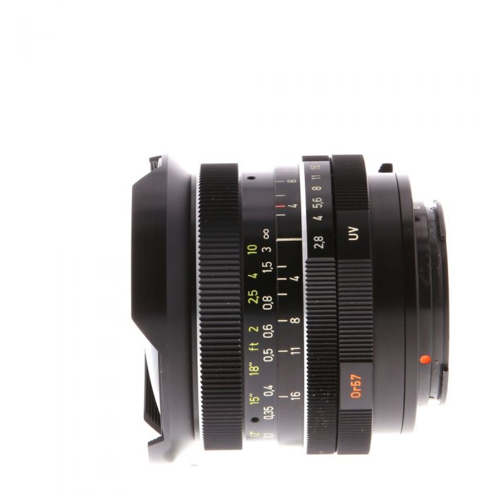 Rollei 16mm F/2.8 F-Distagon HFT 2-Pin Lens {Built-In}