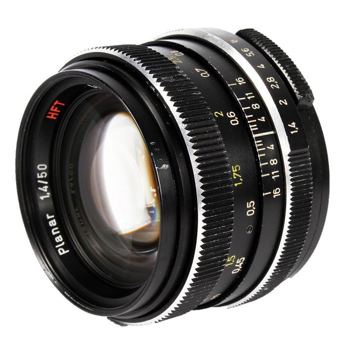 Rollei 50mm F/1.4 Planar HFT 1 Pin Lens {49}