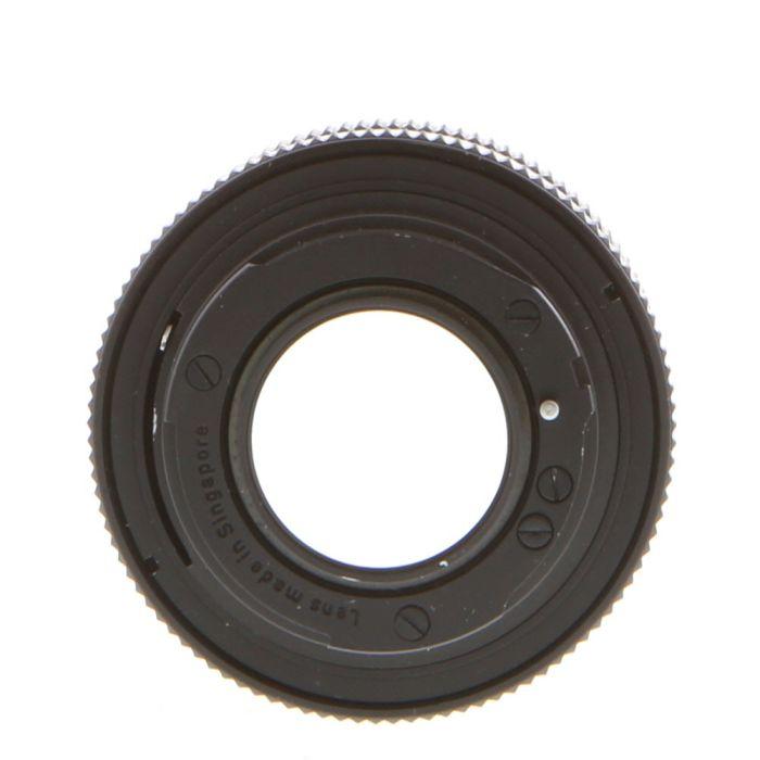 Rollei 50mm F/1.4 Planar HFT 3 Pin (Singapore) Lens {49}