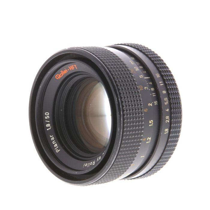 Rollei 50mm F/1.8 Planar HFT 3 Pin (Singapore) Lens {49}