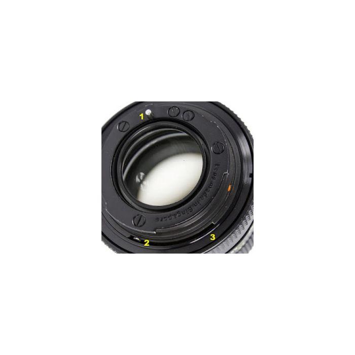 Rollei 85mm F/2.8 Rolleinar-MC 3 Pin Lens {52}