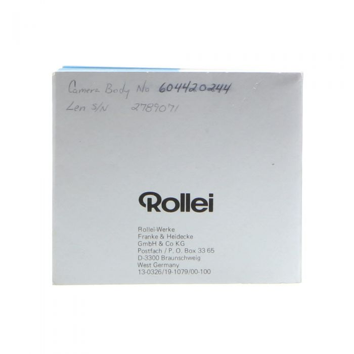 Rollei 35 SE/35 TE In Practical Use Instructions