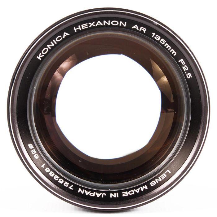 Konica 135mm F/2.5 Hexanon AE AR Mount AR Mount Lens {62}