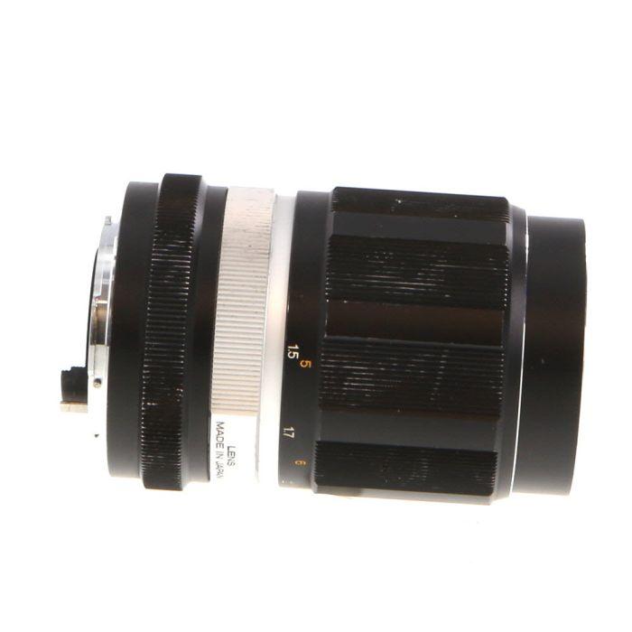 Konica 135mm F/3.5 Hexanon EE Chrome Ring Lens {55}