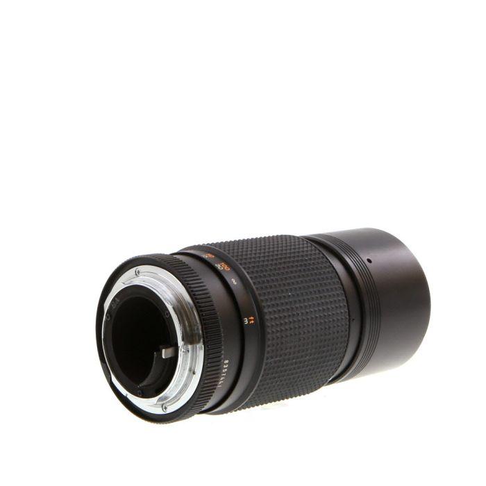 Konica 200mm F/4 Hexanon AE AR Mount Lens {55}