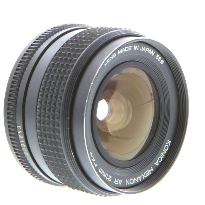 Konica 21mm F/2.8 Hexanon AE AR Mount Lens {55}