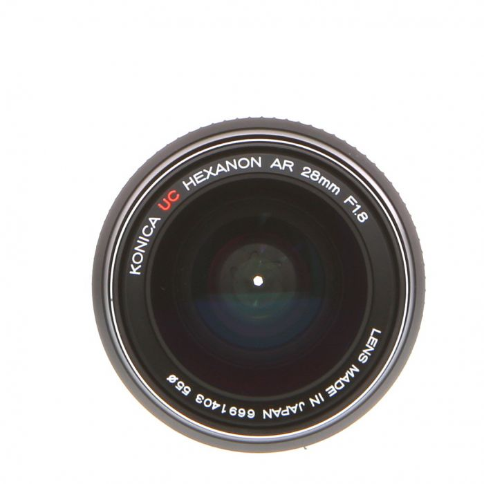 Konica 28mm F/1.8 UC Hexanon AE AR Mount Lens {55}