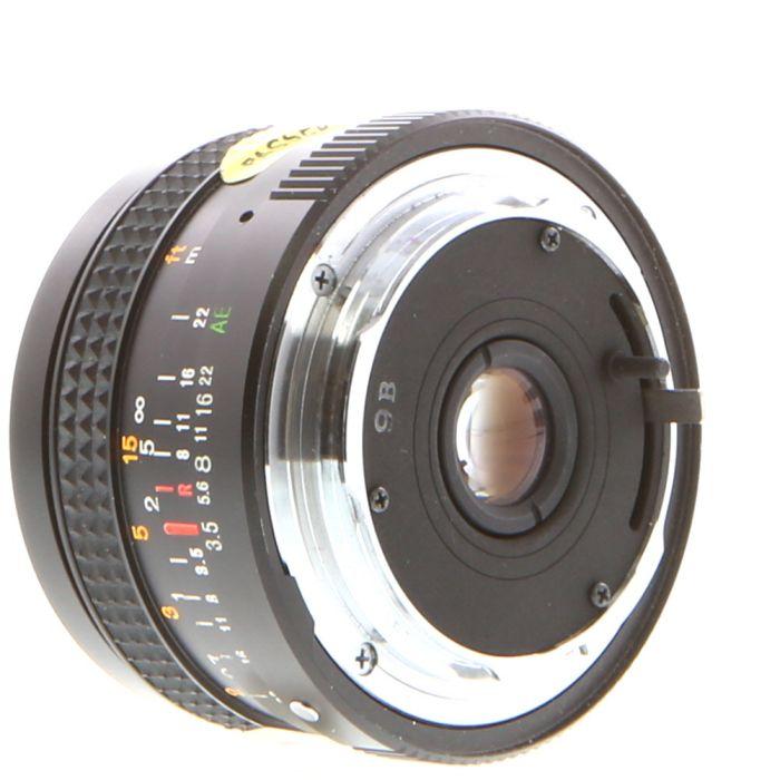 Konica 28mm F/3.5 Hexanon AR Mount Lens (pre-set){55}