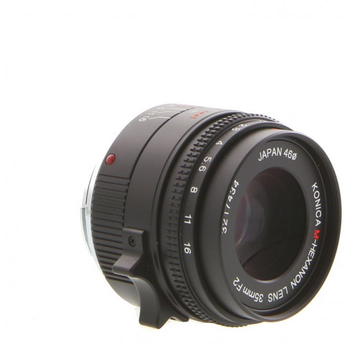 Konica 35mm F/2 M-Hexanon Lens For Hexar RF {46}