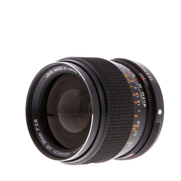 Konica 35mm F/2.8 Hexanon AE AR Mount Lens {55}