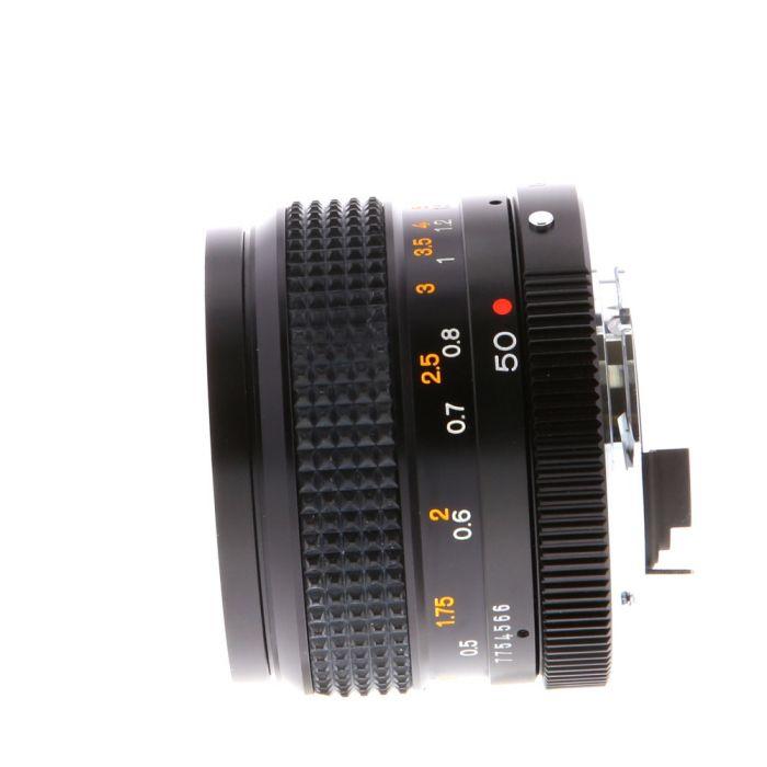 Konica 50mm F/1.4 Hexanon AE AR Mount Lens {55}