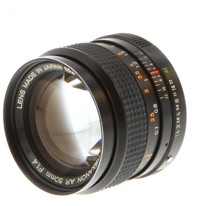 Konica 50mm F/1.4 Hexanon AR Mount Lens {55}