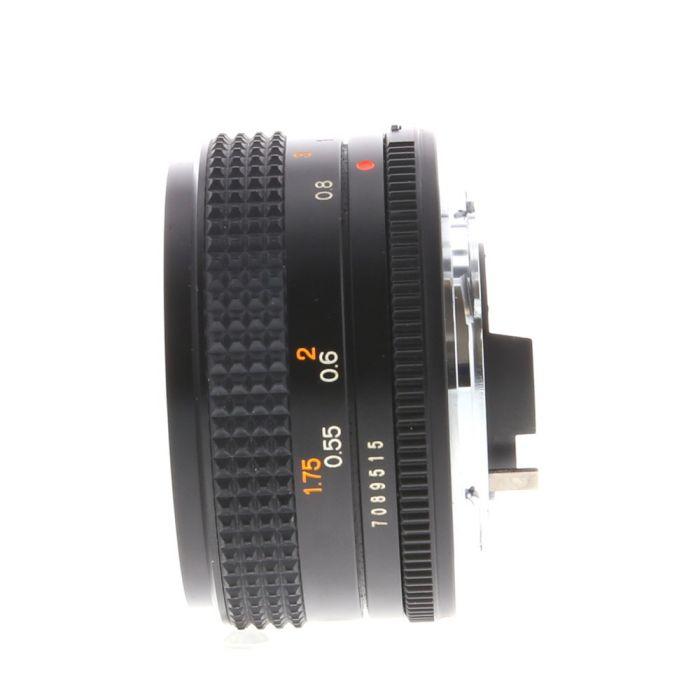 Konica 50mm f/1.8 Hexanon AE AR Mount Lens {55}