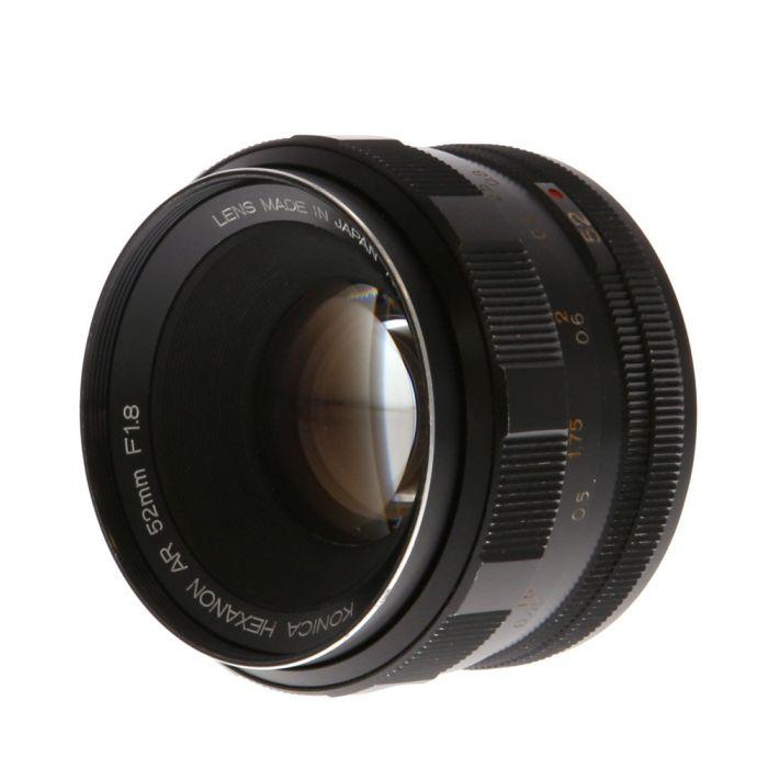 Konica 52mm f/1.8 Hexanon EE AR Mount Lens {55}