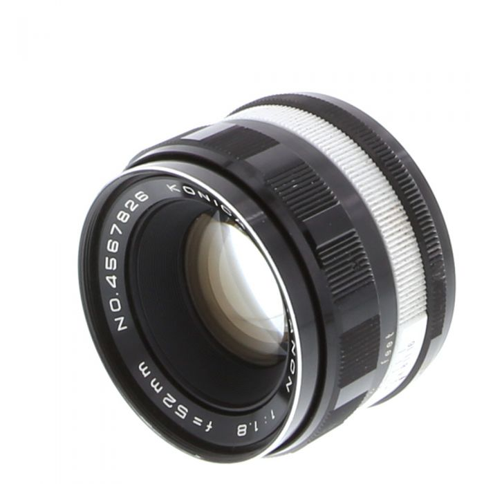 Konica 52mm f/1.8 Hexanon EE Lens {55}