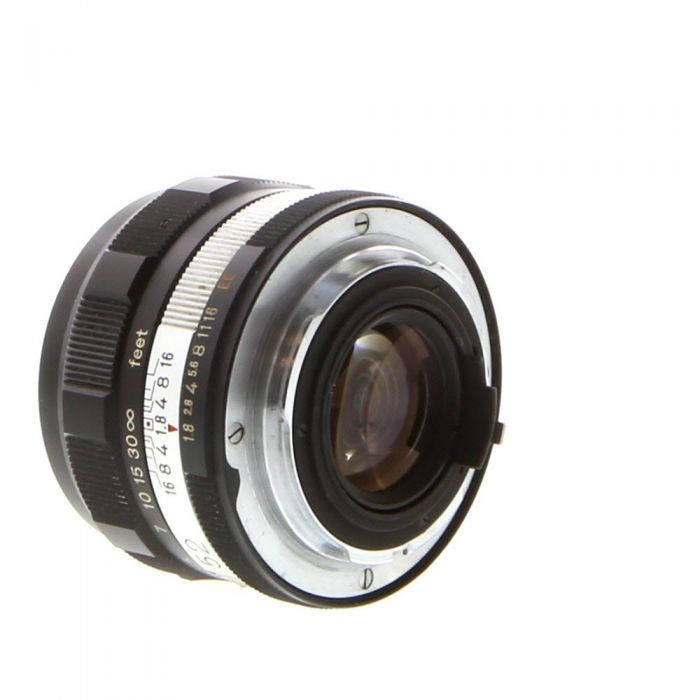 Konica 52mm f/1.8 Hexanon EE Lens {55} Chrome Ring
