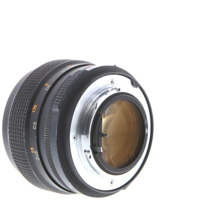 Konica 57mm F/1.2 Hexanon EE AR Mount Lens {62}
