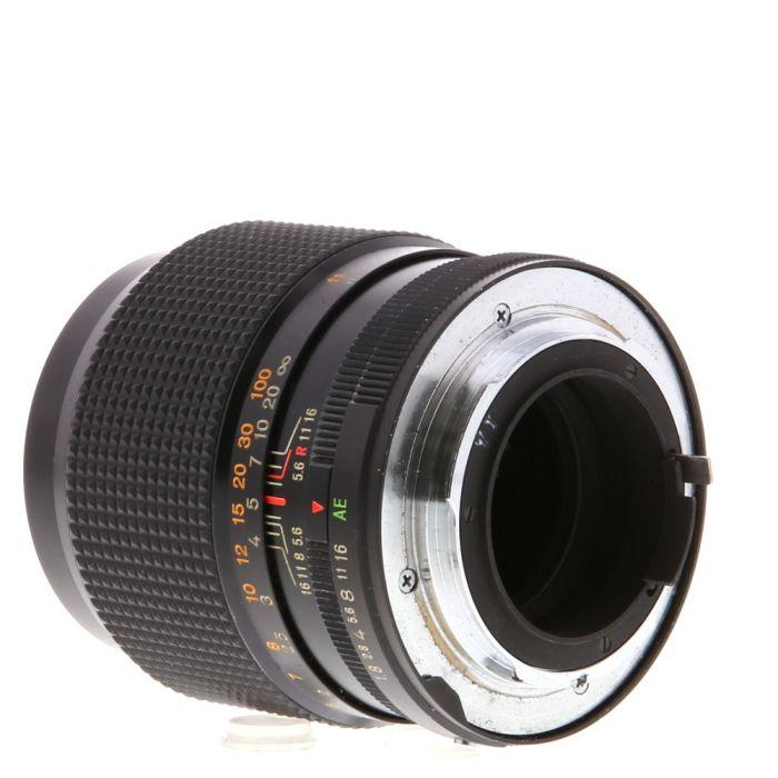 Konica 85mm F/1.8 Hexanon AE AR Mount Lens {55}