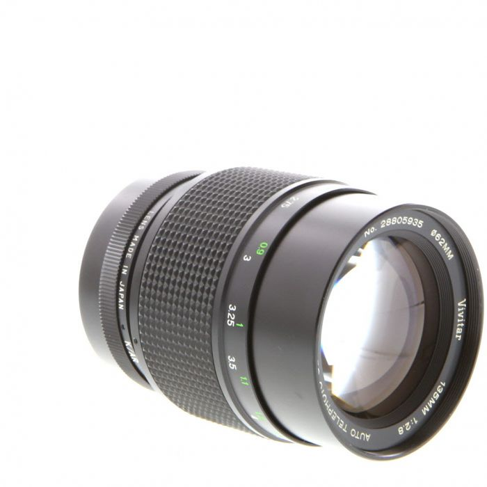 Vivitar 135mm f/2.8 AR EE Close Focusing Lens For Konica {62}