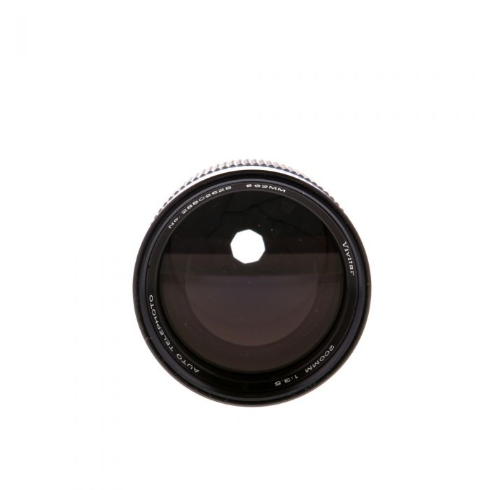 Vivitar 200mm F/3.5 Lens For Konica {62}