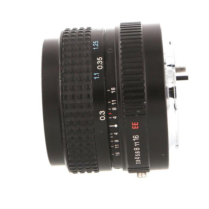 Tokina 28mm F/2.8 EL EE Lens For Konica {52}